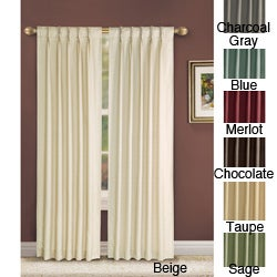 Manchester Pinch Pleat 84 inch Curtain Panel