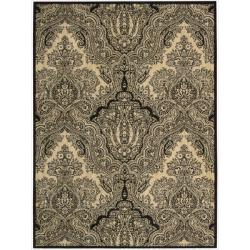 Joseph Abboud by Nourison Majestic Black Rug (5'3 x 7'5)