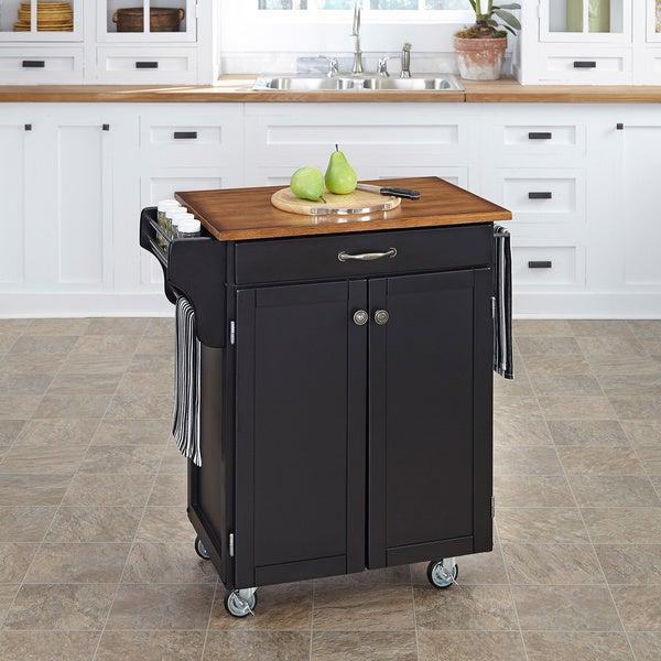 Black Finish Cuisine Cart
