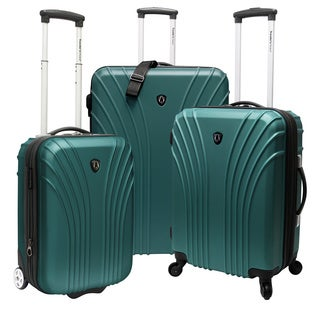 Traveler's Choice TC8500 3-piece 18.5 - 22 - 28-inch Hardside Luggage Set