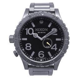 Nixon Men's 51-30 Gunmetal Black Tide Watch