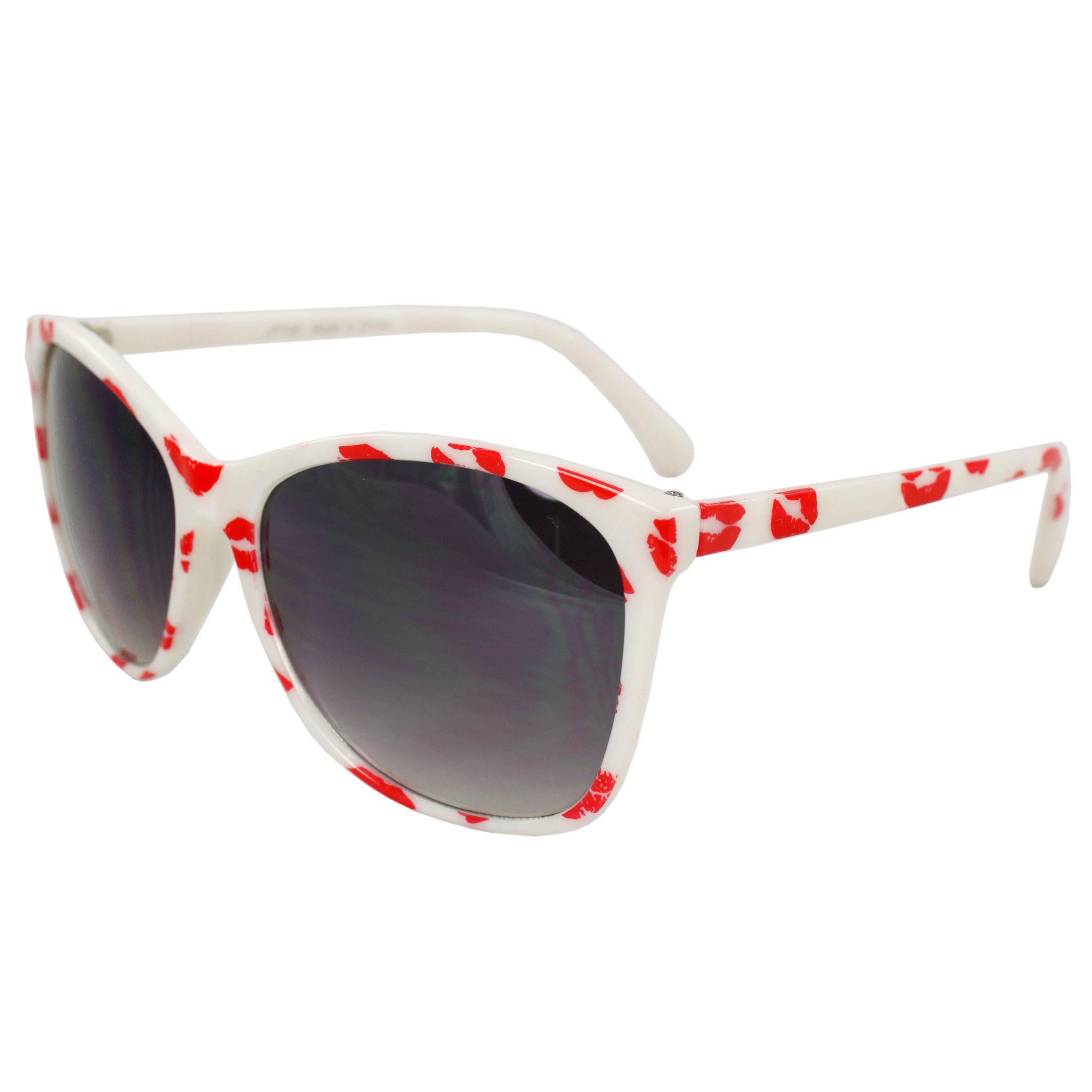 Women's JP7091-WHTPB White Fashion Sunglasses