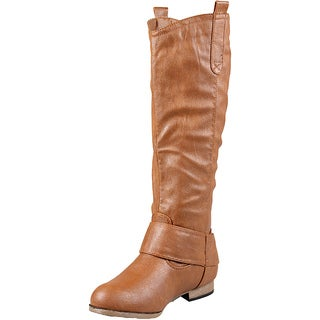 Whiskey Wild Diva by Beston Women's 'Tosca-29' Knee High Boots