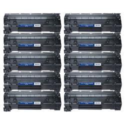 HP CB436A 36A Compatible Black Toner Cartridges (Set of 10)