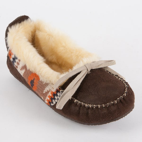 Muk Luks Tobey Moccasin Slipper