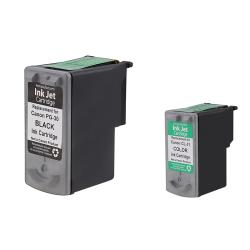 INSTEN Black Ink/ Color Ink for Canon MP190/ MP210/ MP470/ MX300/ MX310