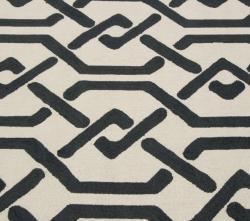 nuLOOM Handmade Marrakesh Trellis Charcoal Wool Rug (5' x 8')