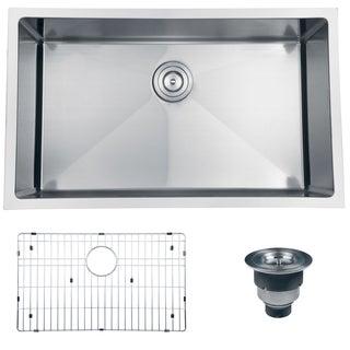 Ruvati 16-gauge Stainless Steel 30-inch Single Bowl Undermount Kitchen Sink