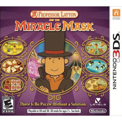 NinDS 3DS - Professor Layton and the Miracle Mask