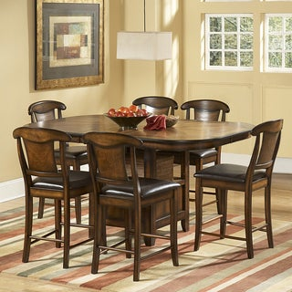 TRIBECCA HOME Glenbrook 7 Piece Counter Height Dining Set
