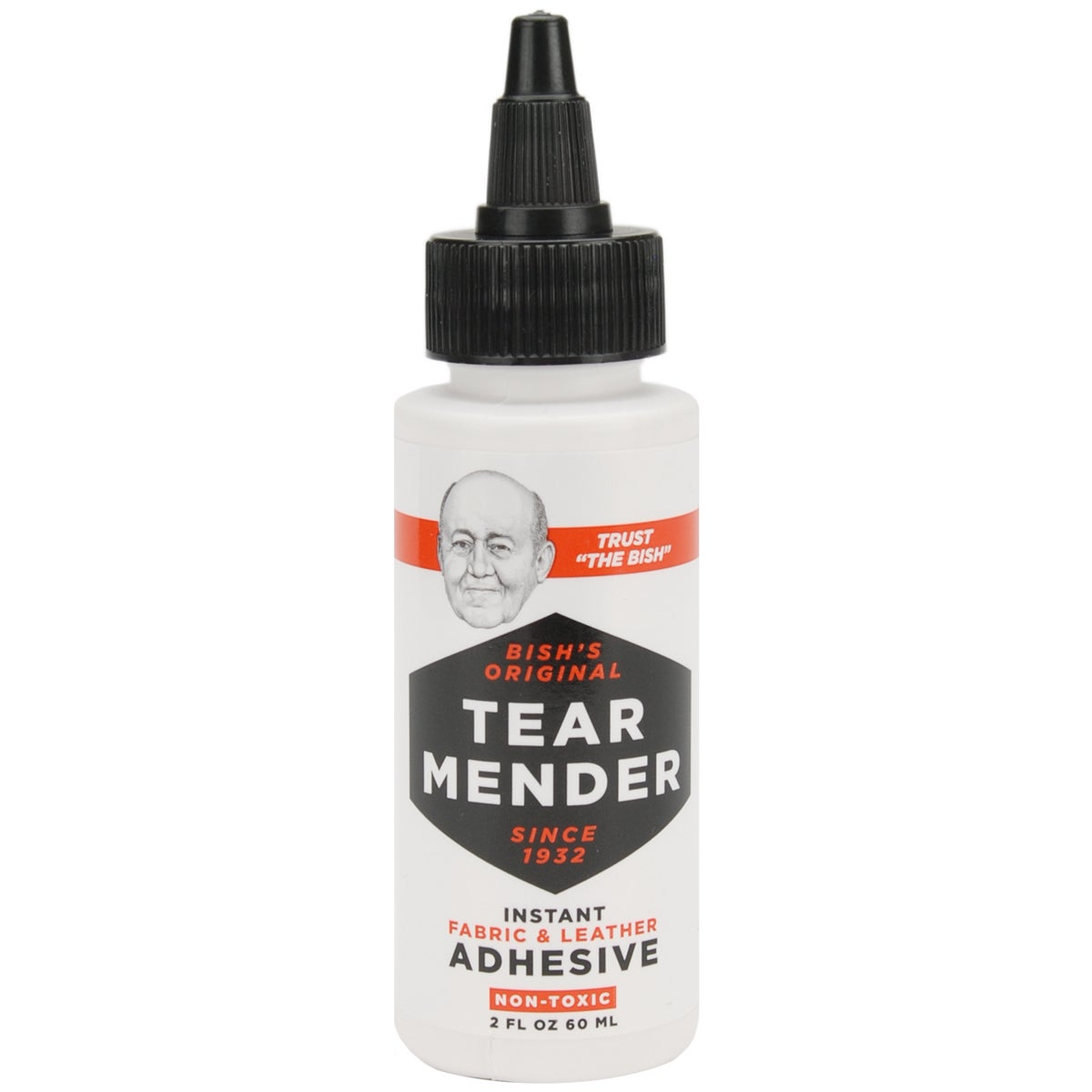 Tear Mender Instant Fabric & Leather Adhesive-2 Ounces