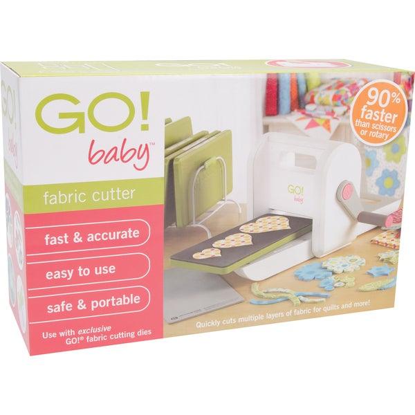 GO! Baby Portable Lightweight Scrapbooking Sewing Craft Fabric Cutter