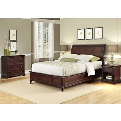 King Sleigh Bed Set