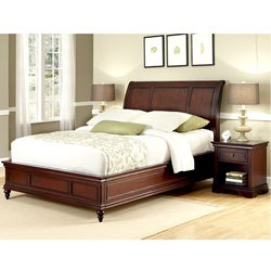 Lafayette King Bed and Night Stand