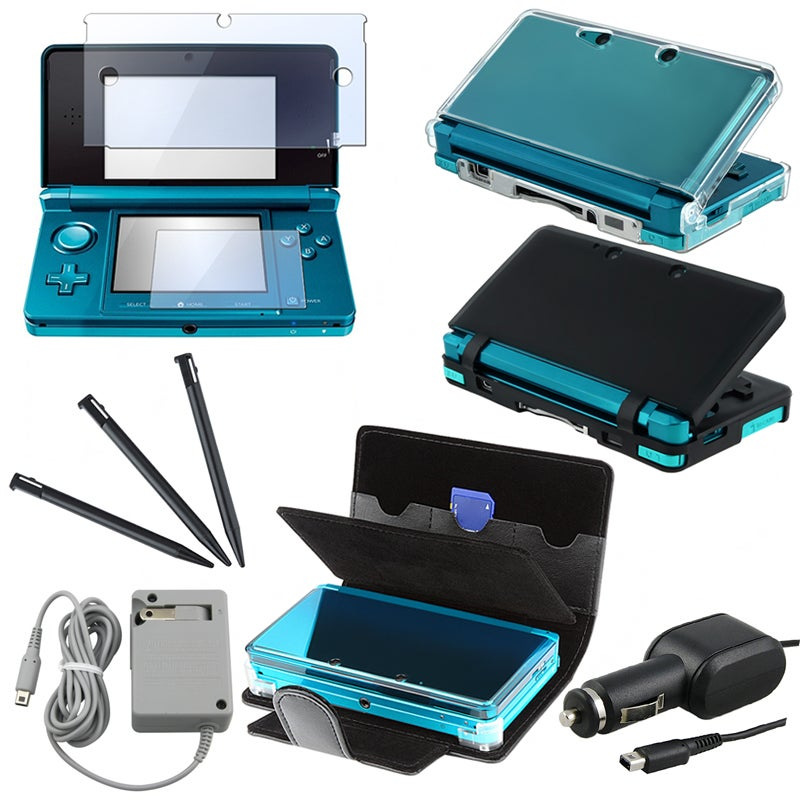 Crystal/ Silicone/ Leather Case/ Chargers/ Protector for Nintendo 3DS