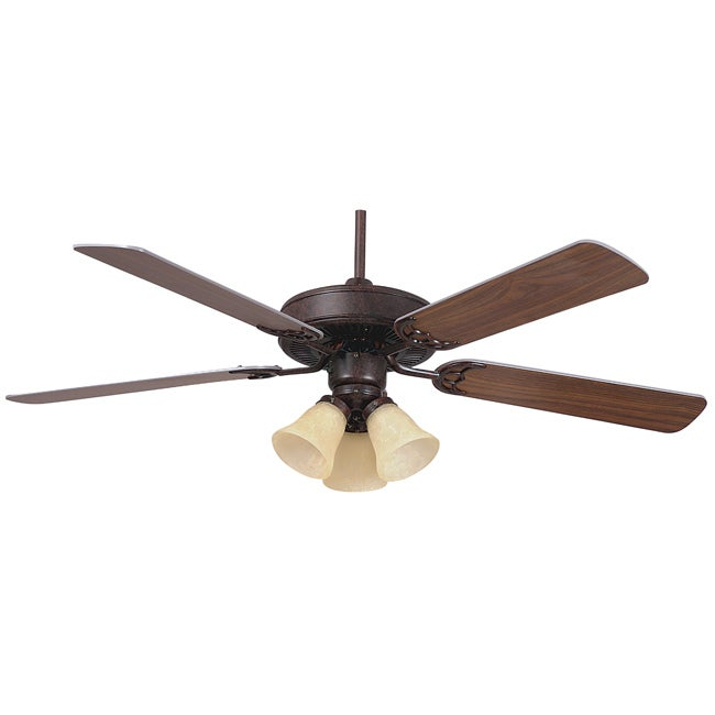 Rubbed Bronze Home Air Ceiling Fan