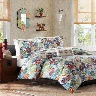 Mi Zone Asha Printed Paisley 4-piece Comforter Set