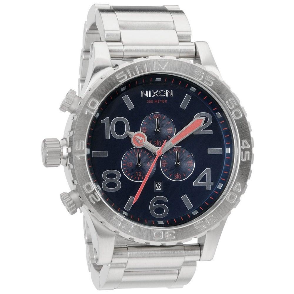 Nixon Men's 51-30 Chronograph Navy Watch