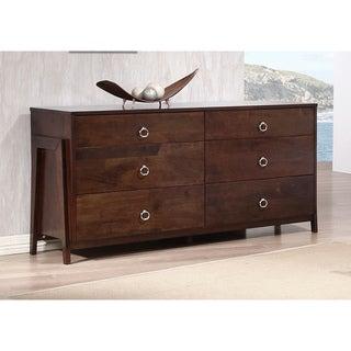 Kota Tobacoo Brown Six-drawer Dresser