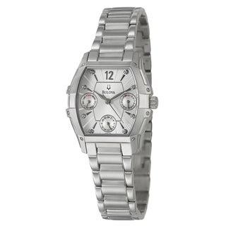 Bulova Women's 96P127 Stainless Steel Chronograph Watch