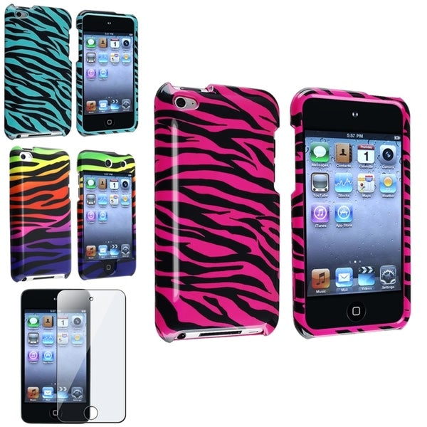 INSTEN iPod Case Covers/ Screen Protector for Apple iPod Touch 4th Generation