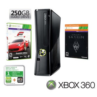 Xbox 360 - Holiday Bundle w/Skyrim &amp; Forza 4 250 GB Hard Drive