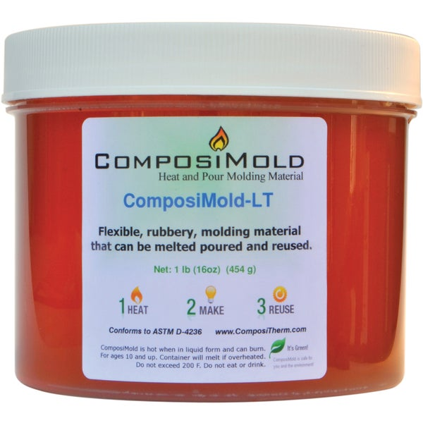 Composimold Reusable Mold Making Material 32 Ounces-