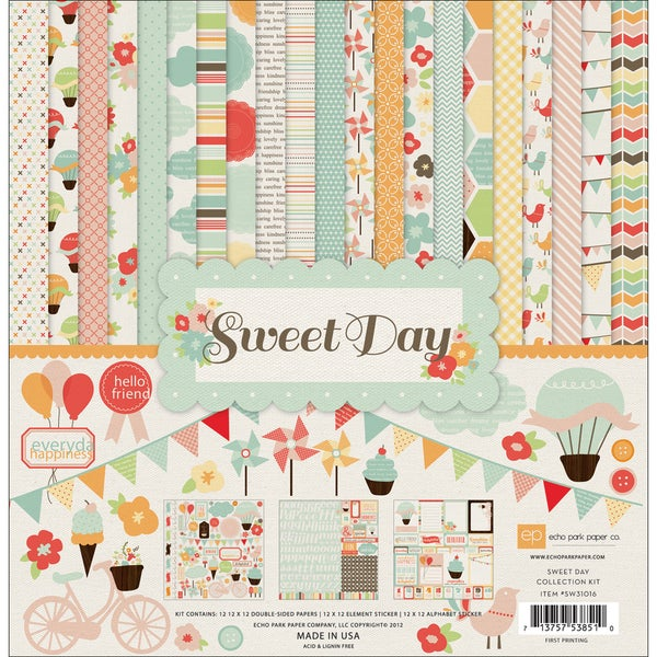 "Sweet Day Collection Kit 12""X12""-"