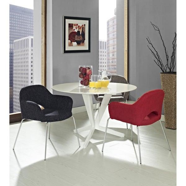 Saarinen Style Armchair Set (Set of 3)