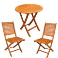 Royal Tahiti Leganes 3-Piece Outdoor Folding Bistro Set