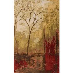 Hand-tufted Monet Autumn Multi Rug (8'0 x 11'0)