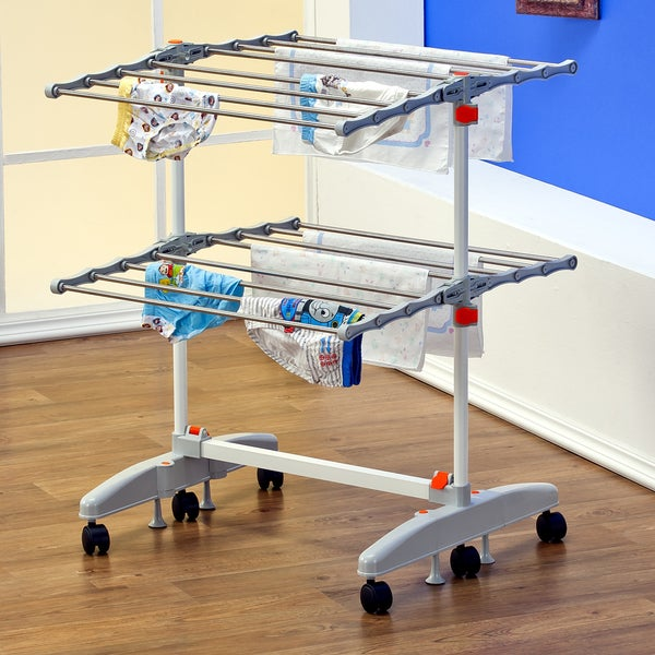 Badoogi Foldable Heavy Duty Compact Storage Drying Rack System