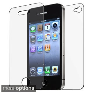INSTEN Front/ Back Screen Protector for Apple iPhone 4/ 4S (Pack of 6)