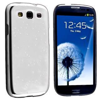 BasAcc Chrome Raindrop Snap-on Case for Samsung Galaxy S III/ S3
