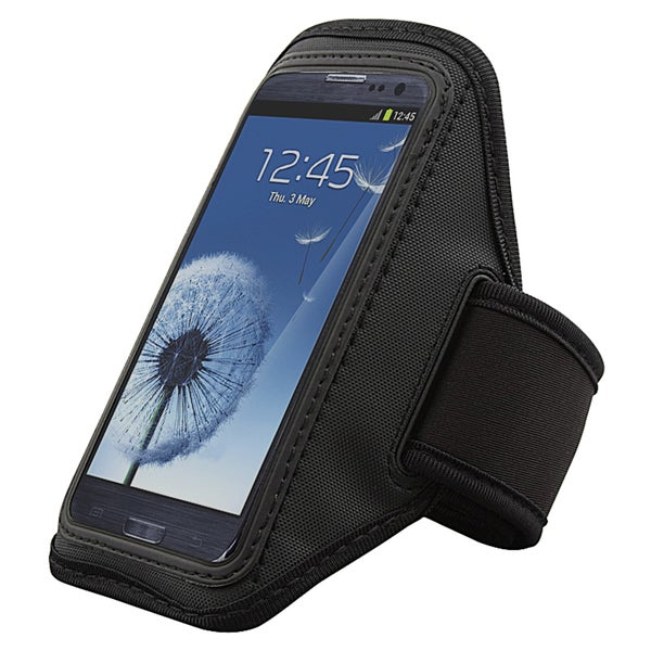 INSTEN Black Armband for Samsung Galaxy S III/ S3