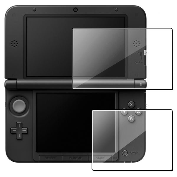 INSTEN Clear Screen Protector for Nintendo 3DS XL