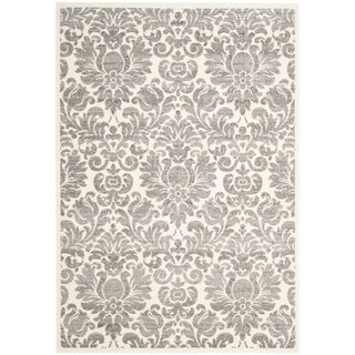 Safavieh Porcello Damask Ivory/ Grey Rug (5'3 x 7'7)