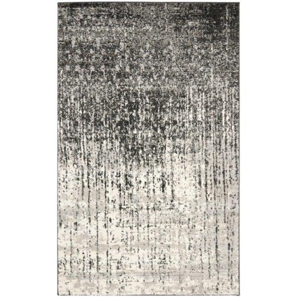 Safavieh Deco Inspired Black/ Grey Rug (6' x 9')