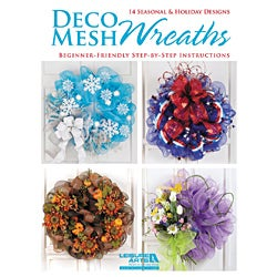 Leisure Arts-Deco Mesh Wreaths