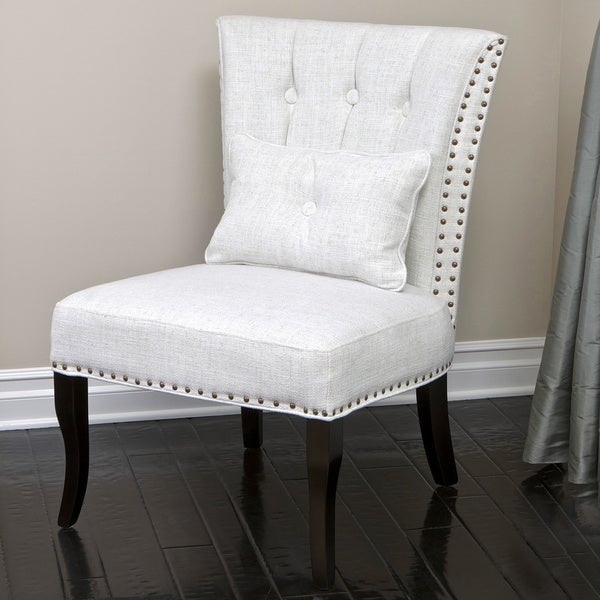 Christopher Knight Home Franco Beige Upholstered Fabric Accent Chair (38.8 x 31.4 x 26)