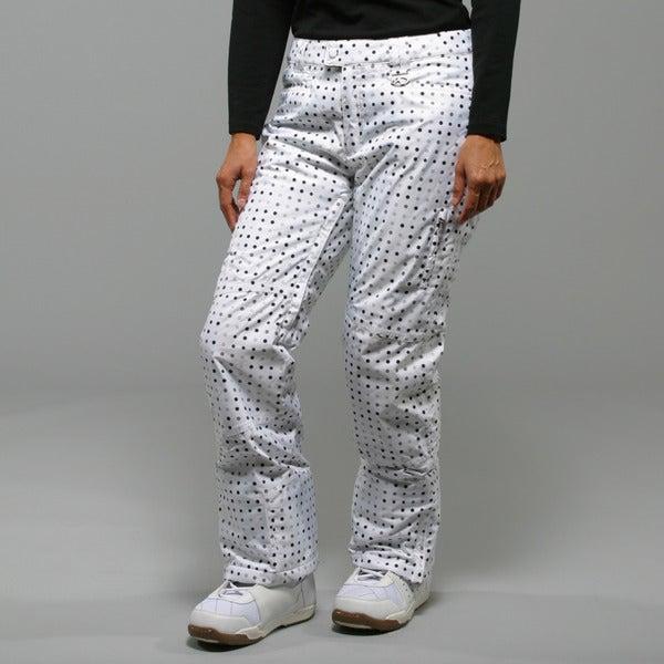 Marker Women's 'Morning Star' White Insulated Ski Pants