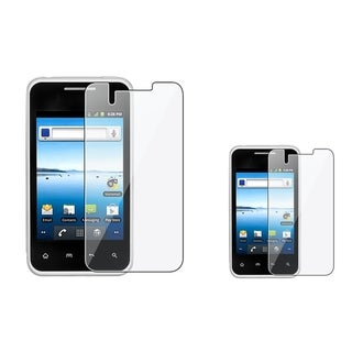 INSTEN Clear Screen Protector for LG Optimus Elite LS696 (Pack of 2)