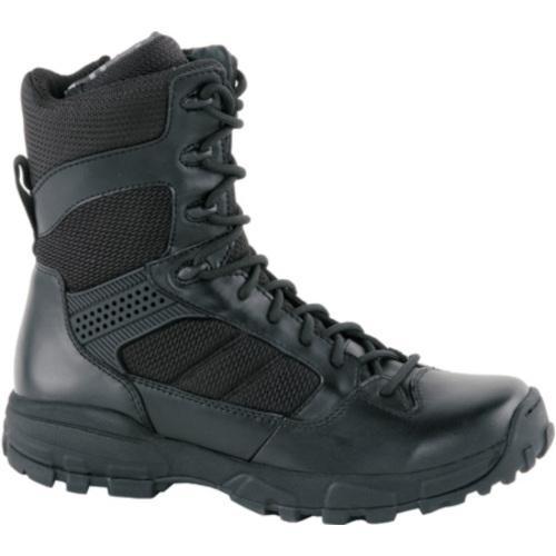 Men's Altama Footwear 8in LITESpeed Black Leather/Air Mesh