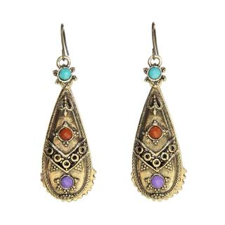 Antique Miao Design Earrings (China)