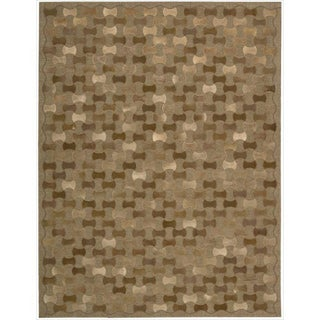 Joseph Abboud by Nourison Chicago Brown Rug (8' x 11')