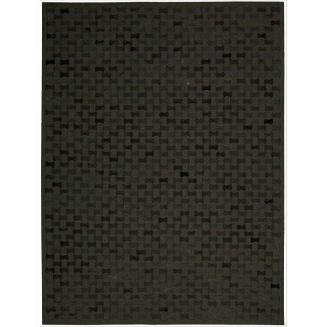Joseph Abboud by Nourison Chicago Black Rug (8' x 11')