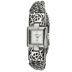 Peugeot Women's Antique Three Strand Chain Watch
