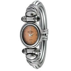 Peugeot Women's Antique Peach Dial Cuff Watch