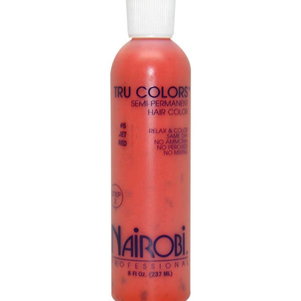 Nairobi Tru-Colors Jet Red #5 Semi-Permanent 8-ounce Hair Color