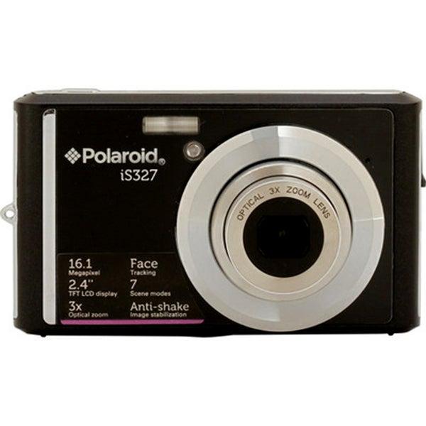 Polaroid iS327 16.1MP Black Digital Camera